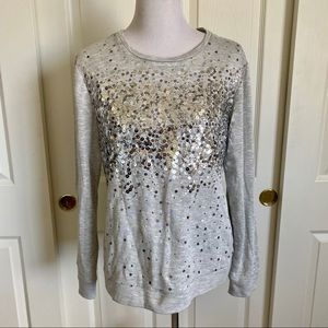 INC Sequin Sweatshirt XL